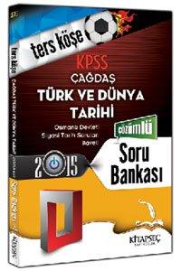 KPSS Çağdaş Türk ve Dünya Tarihi Ters Köşe Soru Bankası Kitapseç
