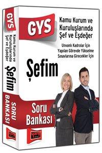 GYS Şefim Soru Bankası Yargı Yayınları 2015