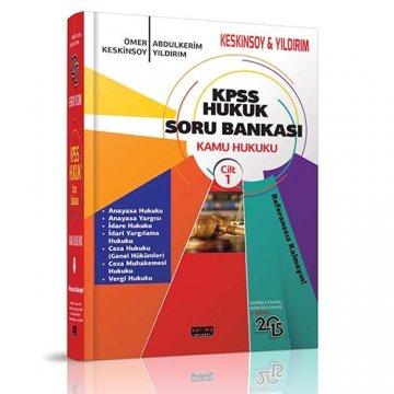 KPSS Hukuk Soru Bankası Kamu Hukuku Keskinsoy - Yıldırım - 2015