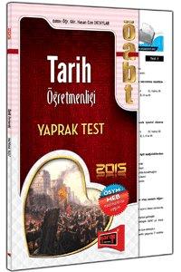 ÖABT Tarih Öğretmenliği Yaprak Test Yargı Yayınları 2015