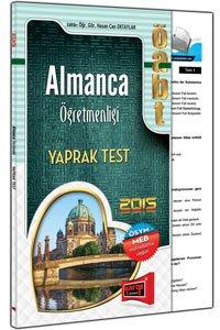 ÖABT Almanca Öğretmenliği Yaprak Test Yargı Yayınları 2015