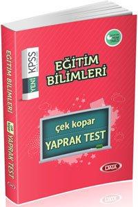 KPSS Eğitim Bilimleri Çek Kopar Yaprak Test 2015