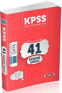 KPSS Genel Kültür Genel Yetenek 41 Deneme 2015