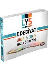 LYS Pratik Edebiyat Bilgileri 3G 3D Hızlı Öğretim