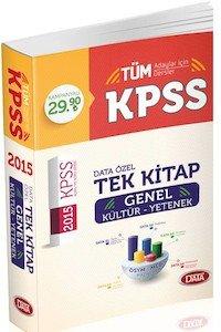 KPSS GY-GK Konu Anlatımlı Tek Kitap 2015