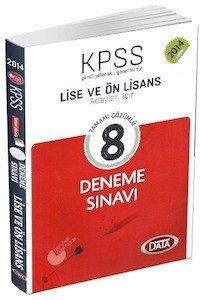 KPSS Lise ve Ön Lisans 8 Deneme Tamamı Çözümlü 2014