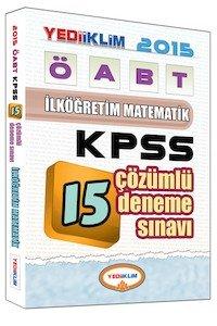 ÖABT İlköğretim Matematik Öğretmenliği Tamamı Çözümlü 15 Deneme Sınavı 2015