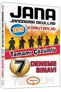 JANA Sınavı Tamamı Çözümlü 7 Deneme 2015