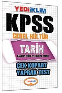 KPSS Tarih Çek Kopart Yaprak Test 2015