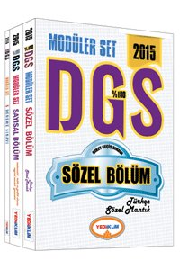 DGS Sözel Sayısal Bölüm Konu Anlatımlı Modüler Set 2015