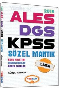 KPSS Ales DGS Sözel Mantık Konu Anlatımlı 2015