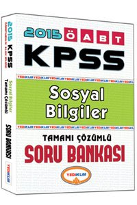 ÖABT Sosyal Bilgiler Öğretmenliği Tamamı Çözümlü Soru Bankası 2015