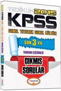 KPSS Genel Kültür Genel Yetenek Son 3 Yıl Tamamı Çözümlü Çıkmış Sorular 2015