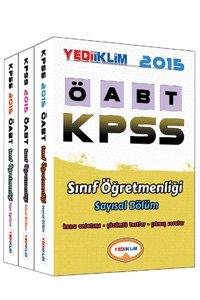 KPSS ÖABT Sınıf Öğretmenliği Konu Anlatımlı Set  2015