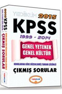 KPSS Genel Kültür Genel Yetenek Tamamı Çözümlü Çıkmış Sorular 2015