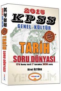 KPSS Genel Kültür Tarih Soru Dünyası 2015