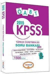 KPSS ÖABT Türkçe Öğretmenliği Soru Bankası 2015