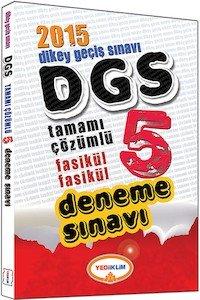 DGS Tamamı Çözümlü 5 Fasikül Deneme Sınavı 2015