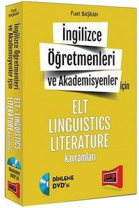 İngilizce Öğretmenleri ve Akademisyenler için ELT LINGUISTICS LITERATURE Kavramlar 2015