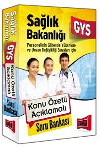 GYS Sağlık Bakanlığı Konu Özetli Açıklamalı Soru Bankası