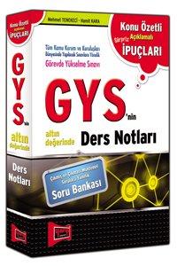 GYS' nin Altın Değerinde Ders Notları 2015