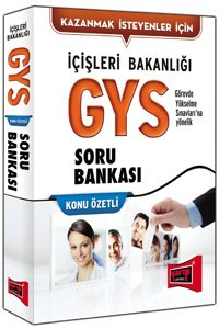 GYS İçişleri Bakanlığı Konu Özetli Soru Bankası 2015