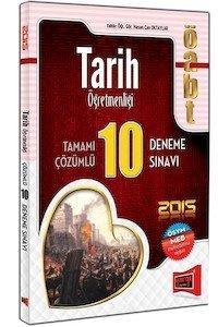 ÖABT Tarih Öğretmenliği Tamamı Çözümlü 10 Deneme Sınavı 2015