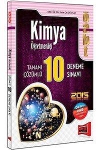 ÖABT Kimya Öğretmenliği Tamamı Çözümlü 10 Deneme Sınavı 2015