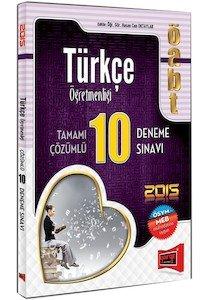 ÖABT Türkçe Öğretmenliği Tamamı Çözümlü 10 Deneme Sınavı 2015