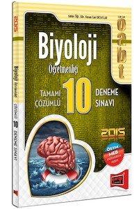 ÖABT Biyoloji Öğretmenliği Tamamı Çözümlü 10 Deneme 2015