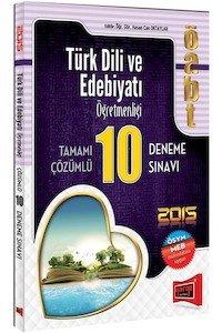 ÖABT Türk Dili ve Edebiyat Öğretmenliği Tamamı Çözümlü 10 Deneme Sınavı 2015