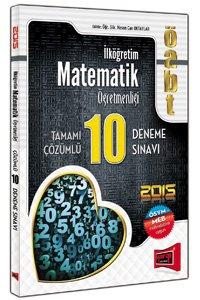 ÖABT İlköğretim Matematik Öğretmenliği Tamamı Çözümlü 10 Deneme 2015