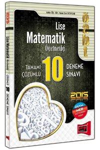 ÖABT Lise Matematik Öğretmenliği Tamamı Çözümlü 10 Deneme Sınavı 2015