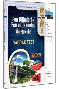 ÖABT Fen ve Teknoloji Öğretmenliği Yaprak Test 2015