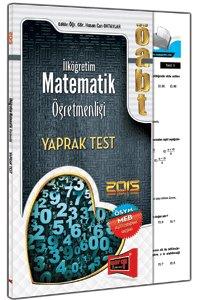 ÖABT Lise Matematiği Yaprak Test 2015