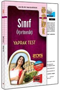 ÖABT Sınıf Öğretmenliği Yaprak Test 2015
