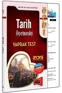 ÖABT Tarih Öğretmenliği Yaprak Test 2015