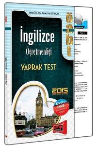 ÖABT İngilizce Öğretmenliği Yaprak Test 2015