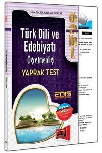 ÖABT Türk Dili ve Edebiyatı Öğretmenliği Yaprak Test 2015