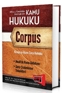 KPSS A Kamu Hukuku Corpus Konu Anlatımlı 2015