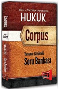 KPSS A Tamamı Çözümlü Hukuk Soru Bankası Corpus 2015