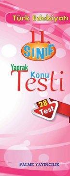 11.Sınıf Türk Edebiyatı Yaprak Konu Testi (28 Test)