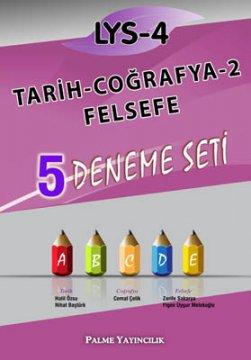 LYS-4 Tarih - Coğrafya-2 - Felsefe 5 Deneme Seti