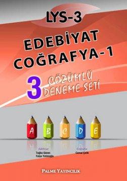 LYS-3 Edebiyat - Coğrafya-1 3 Çözümlü Deneme Seti