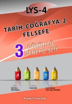 LYS-4 Tarih - Coğrafya-2 - Felsefe 3 Çözümlü Deneme Seti
