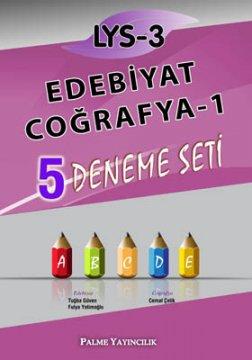 LYS-3 Edebiyat - Coğrafya-1 5 Deneme Seti