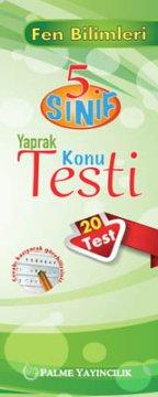 5.Sınıf Fen Bilimleri Yaprak Konu Testi (20 Test)