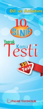 10.Sınıf Dil ve Anlatım Yaprak Konu Testi (32 Test)