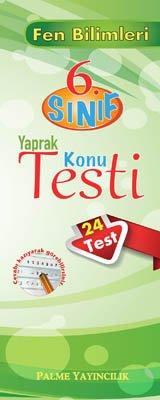 6.Sınıf Fen Bilimleri Yaprak Konu Testi (24 Test)