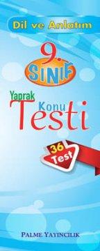 9.Sınıf Dil ve Anlatım Yaprak Konu Testi (36 Test)
